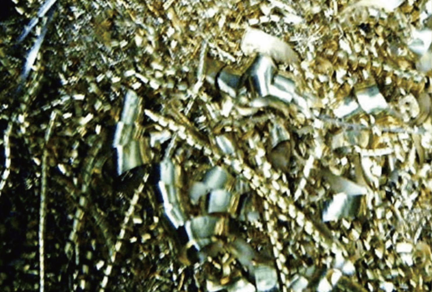 真鍮ダライ粉